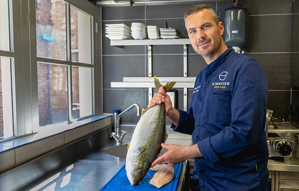 Chef-kok Mart Scherp